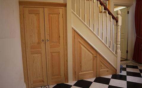 Adamson Carpentry bespoke fitted hand made furniture in